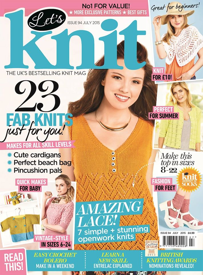 Let's Knit Magazine July 2015