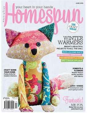Homespun Magazine June 2015