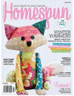 Homespun Magazine June 2015