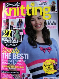Simply Knitting May 2012