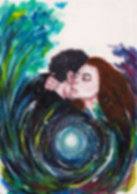Takipsilim Dale Magsino watercolor painting