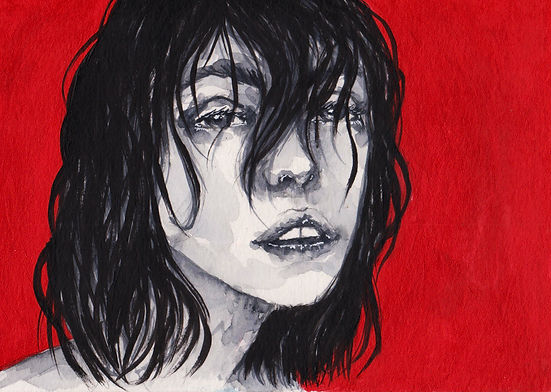 Sana Lahat Dale Magsino watercolor painting
