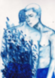 Alon Dale Magsino watercolor painting
