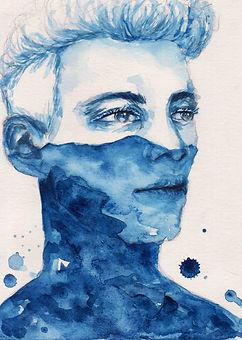 Sabik Dale Magsino watercolor painting