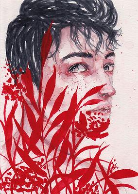 Matingkad Dale Magsino watercolor painting
