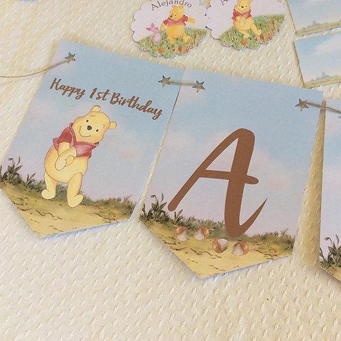 kit de Fiesta Cumpleaños Winnie the Pooh