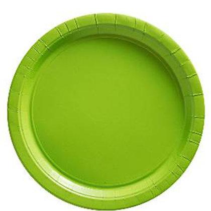 Pack 8 Platos verde kiwi