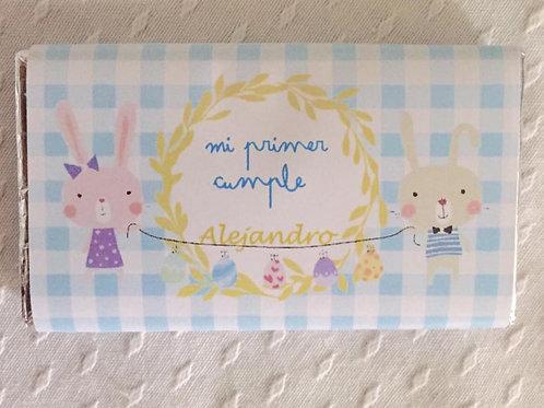 Kit de fiesta cumpleaños conejitos Bunny