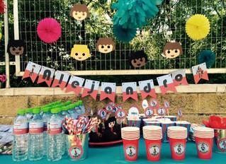Cumpleaños Fiesta de Playmobil