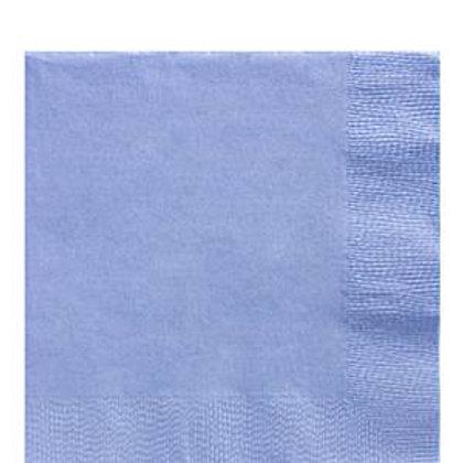 Pack 20 servilletas medianas azul pastel