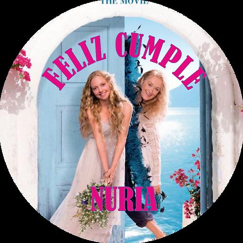 Kit de Fiesta Cumpleaños Mamma Mia