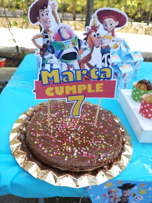 Topper tarta personalizado