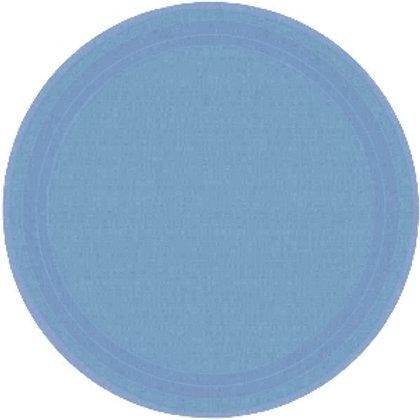 Pack 8 Platos azul pastel