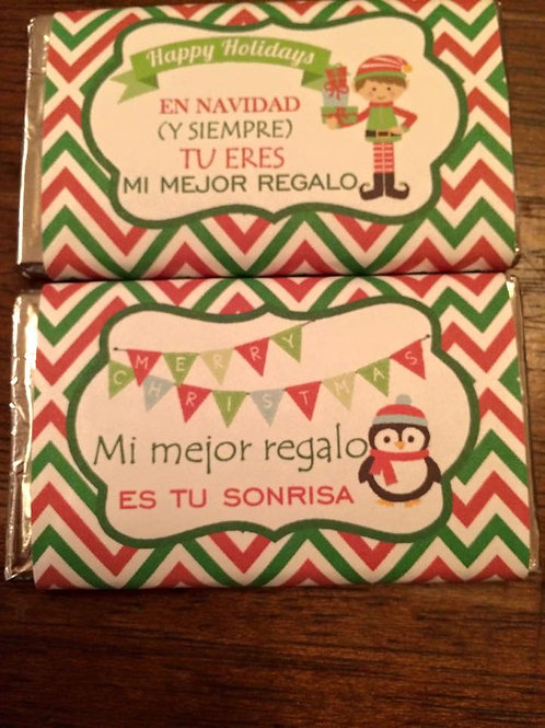 "PACK 2 CHOCOLATINAS ""Mi mejor regalo"