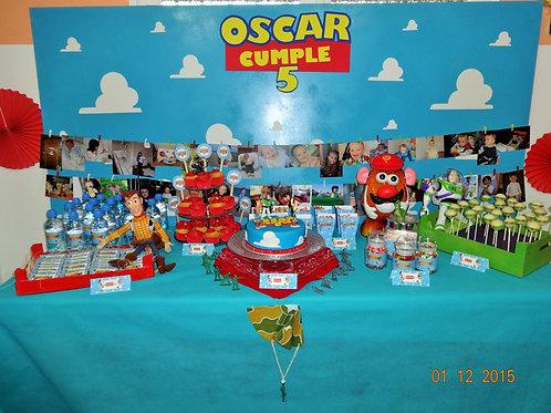 Kit de Fiesta Cumpleaños Toy Story