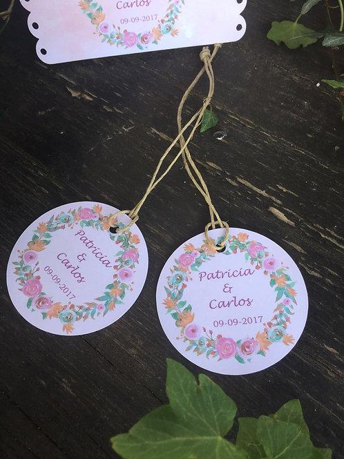 """10 Etiqueta multiuso """"Bouquet"""""""