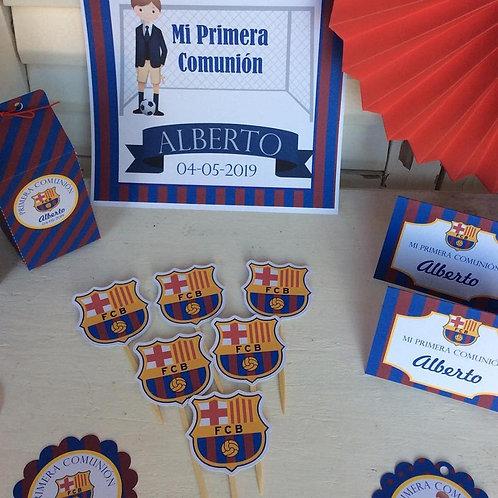 Kit de Fiesta Barça