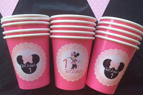 Kit de fiesta Minnie rosa