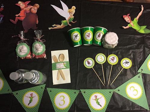 Kit de fiesta cumpleaños Peter Pan