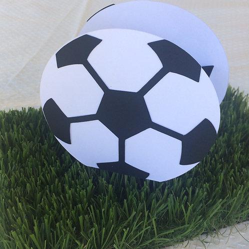 Cajita Balón de fútbol (5 unidades)
