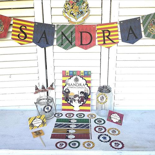 Kit de Fiesta Cumpleaños Harry Potter