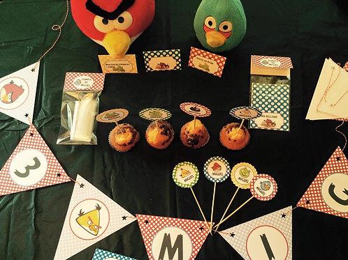 Kit de fiesta Angry Birds
