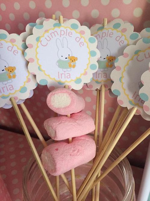 Kit de fiesta cumpleaños Miffy