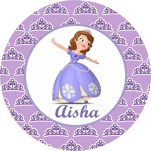 Kit de Fiesta cumpleaños Princesa Sophia