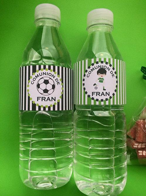 Kit de fiesta cumpleaños fútbol