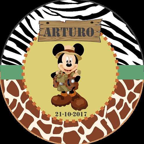 Kit de fiesta cumpleaños Mickey Safari