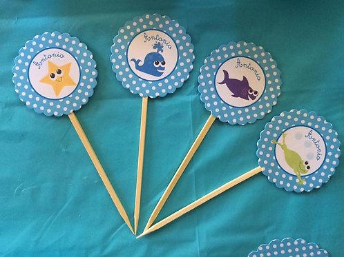 Kit de fiesta Animalitos del Mar