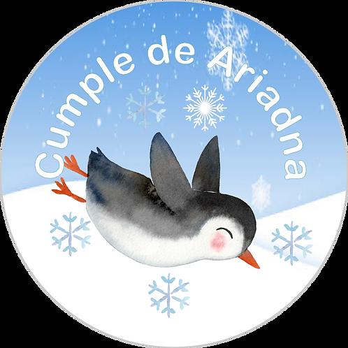 Fiesta cumpleaños pingüinos