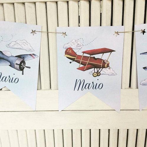 Kit de Fiesta Aviones Vintage