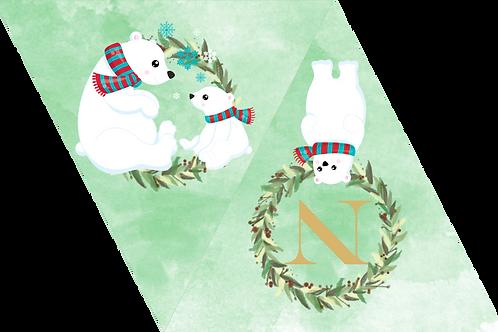 "Guirnalda ""Navidad"" Polar"
