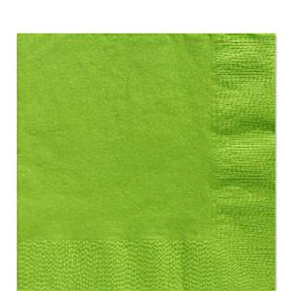 Pack 20 servilletas medianas verde kiwi