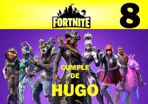 Kit De Fiesta Cumpleaños Fortnite