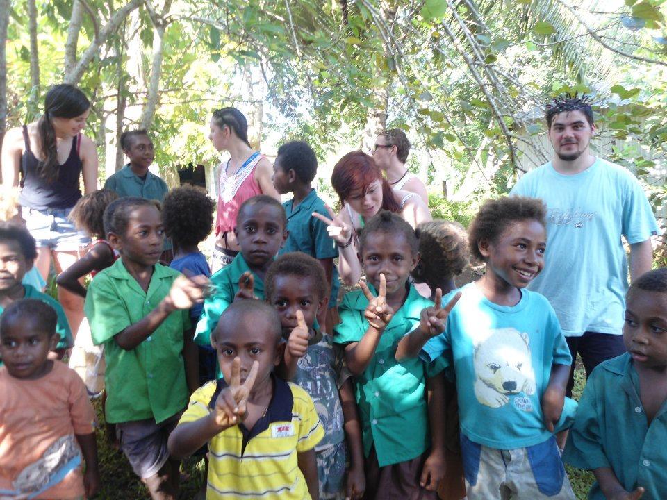 School kids Vila