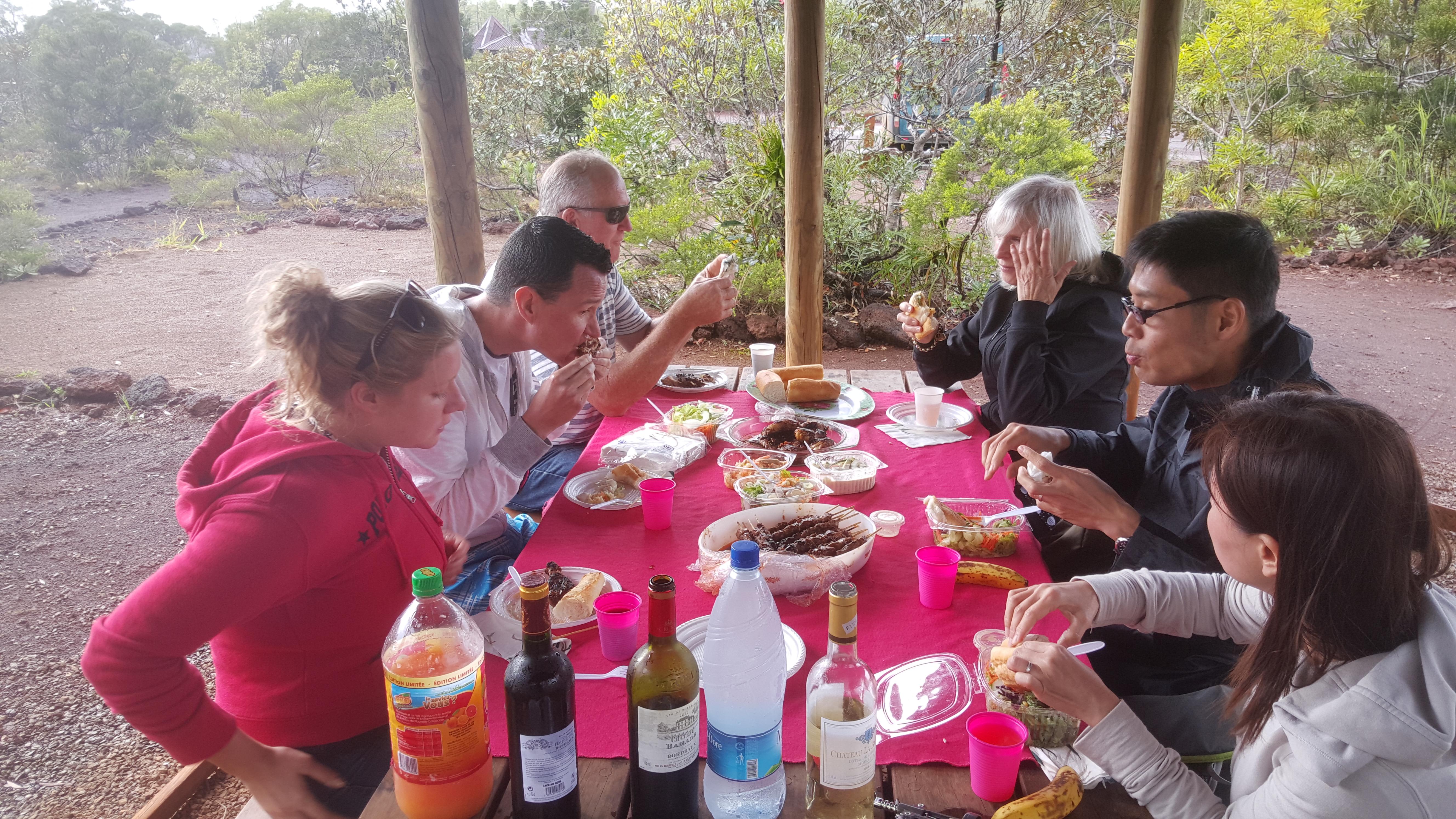 picnic lunch blue river park