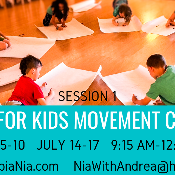 CANCELLED! Nia for Kids Camp Session 1