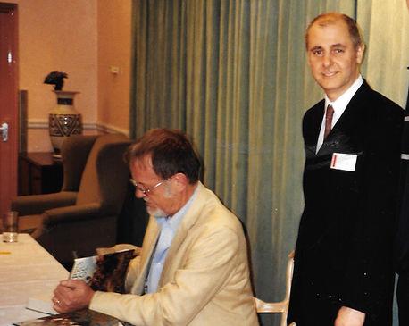 Henry Buckton with Bernard Cornwell.jpg