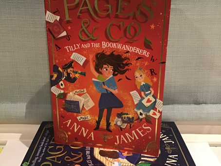 Pages & Co - Tilly and the Bookwanderers by Anna James