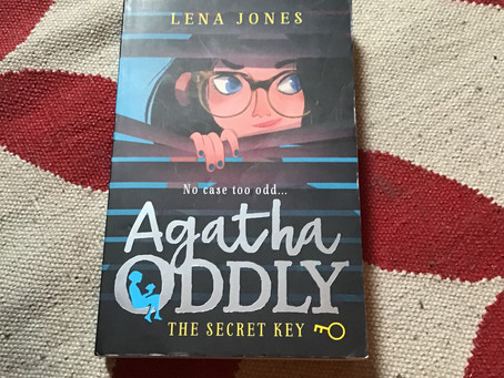 Agatha Oddly by Lena Jones