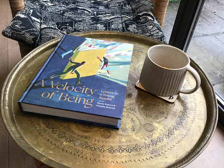 A Velocity of Being, Letters to a Young Reader edited by Maria Popova & Claudia Bedrick