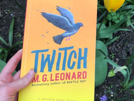 Twitch by M.G Leonard