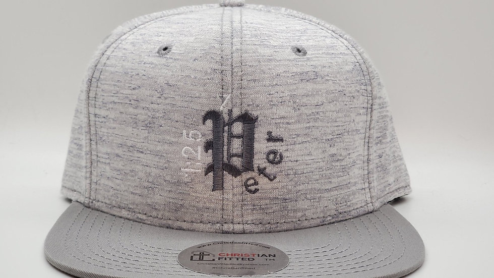 1 Peter 1:25 Snapback by Christian Fitted