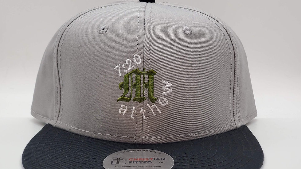 Matthew 7:20 Snapback by Christian Fitted