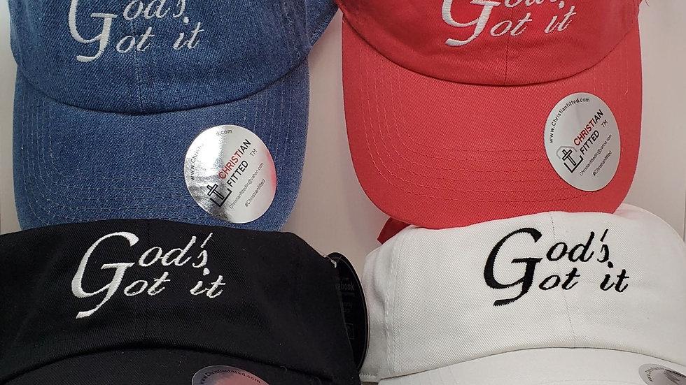 God's Got It Women's Unstructured Hat Custom