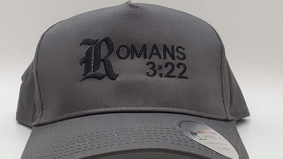 Romans 3:22 Trucker Hat by Christian Fitted