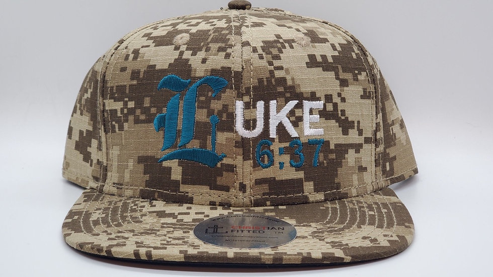 Luke 6:37 Snapback by Christian Fitted