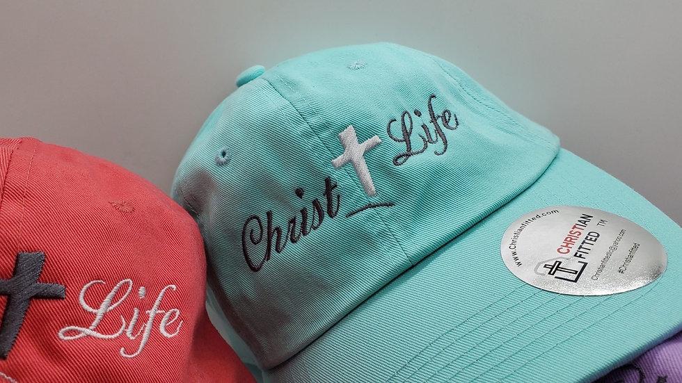 Christ Life Unstructured Cap Custom